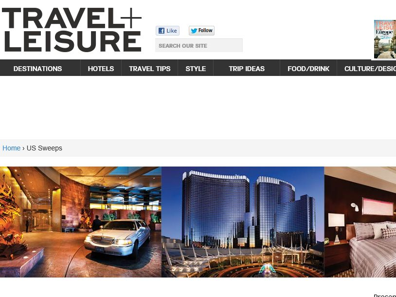 """The ARIA's """"This is How We Vegas"""" Sweepstakes"""