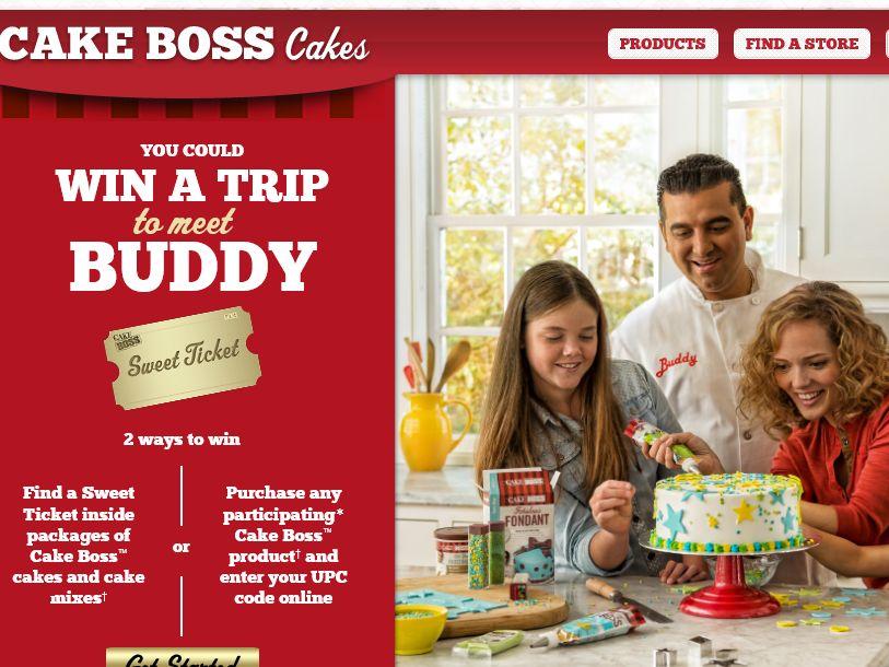 Cake Boss Sweet Ticket Sweepstakes