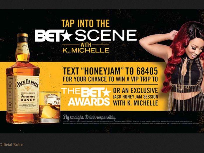 Jack Daniel's Tennessee Honey HoneyJam Sweepstakes