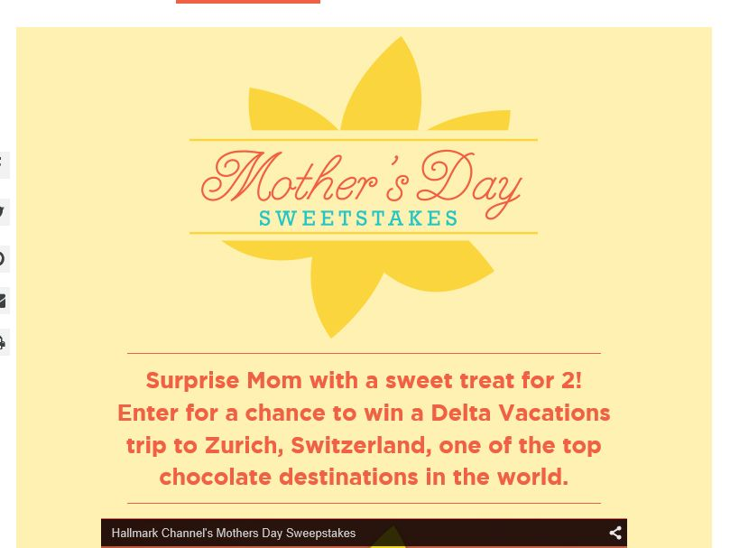 Hallmark Mother's Day Sweepstakes