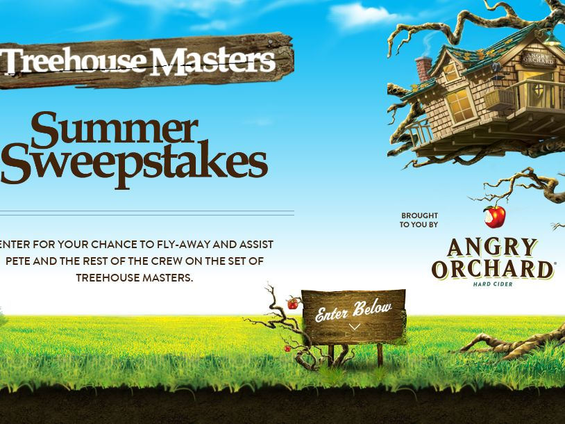 Treehouse Masters Summer Sweepstakes