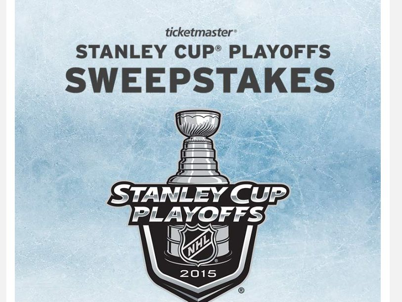 The Ticketmaster Stanley Cup Playoffs Sweepstakes