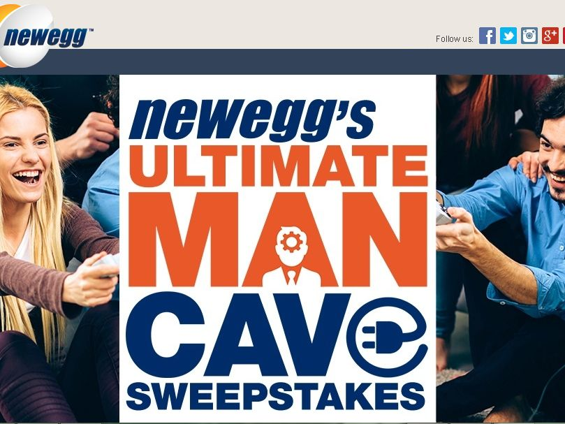 The Newegg Ultimate Man Cave Sweepstakes