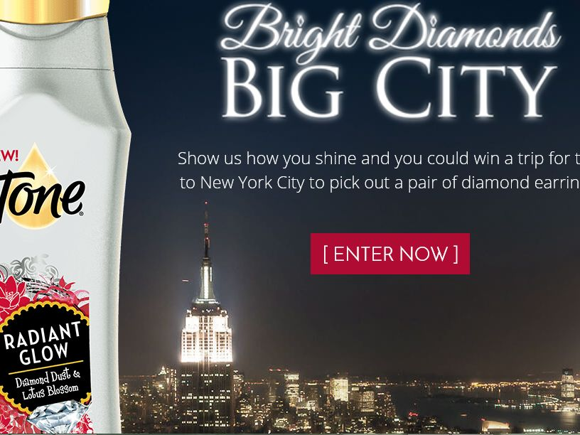 The Tone Body Wash Bright Diamonds, Big City Contest