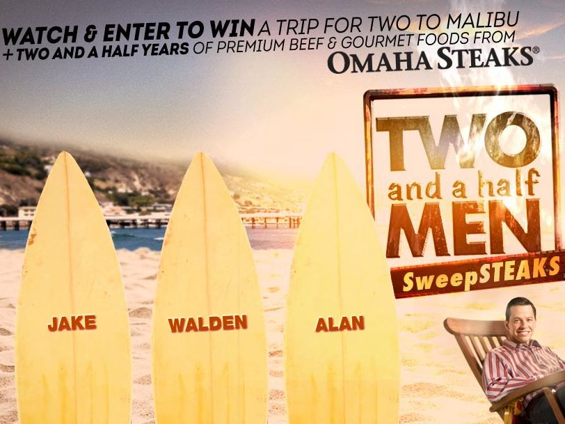 Two and a Half Men  2015 Sweepstakes