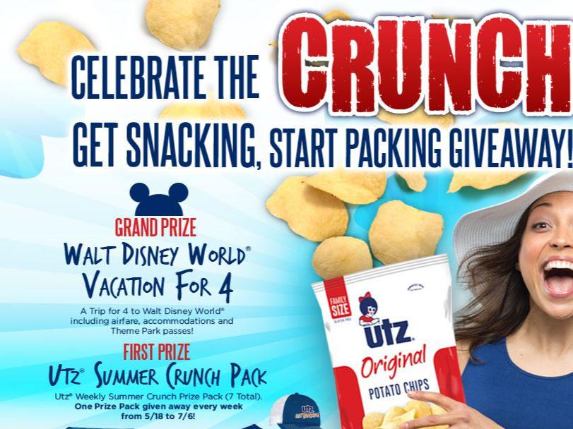 Utz Quality Foods, Inc. Get Snacking, Start Packing Promotion