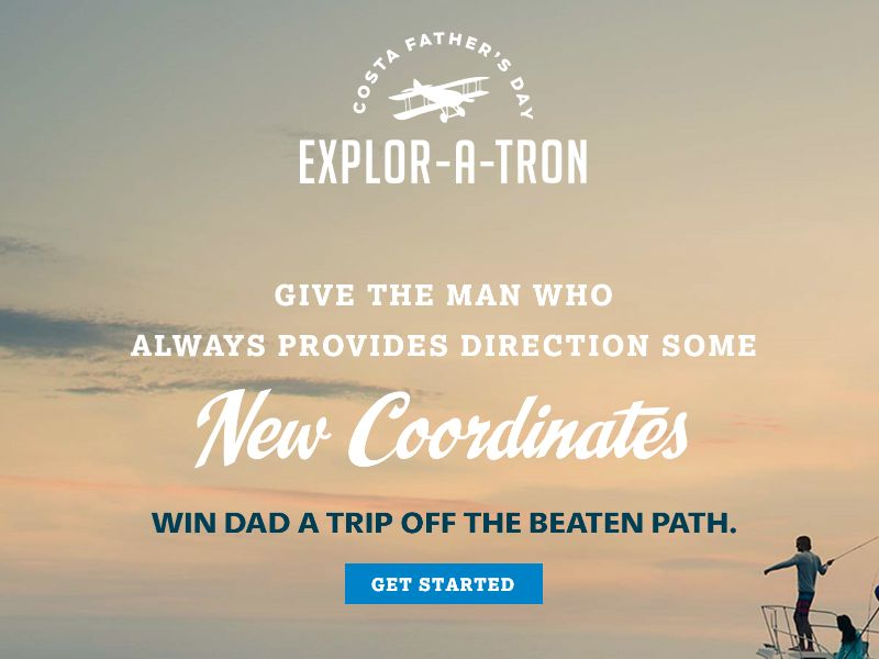 The Costa Father's Day Explor-A-Tron Sweepstakes