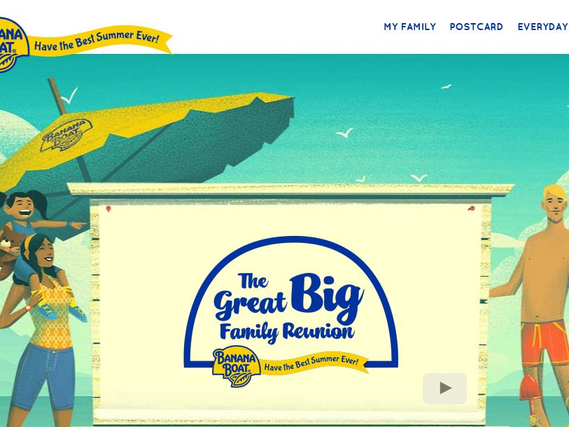 The Banana Boat Great Big Family Reunion Sweepstakes