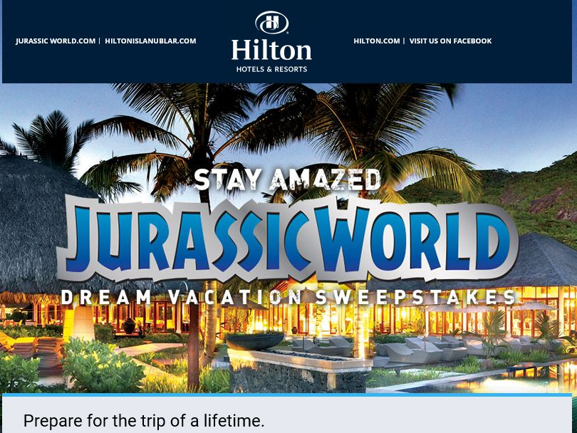 Hilton Dream Vacation Sweepstakes