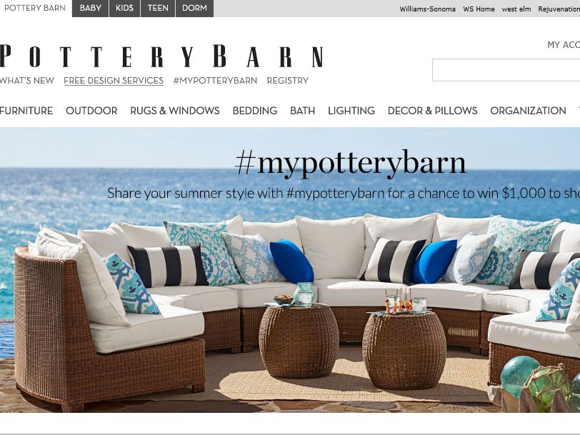 The #mypotterybarn Instagram Contest