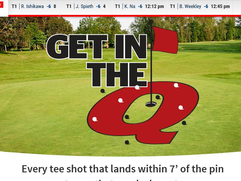 "The Quicken Loans ""Get In the Q"" Sweepstakes"