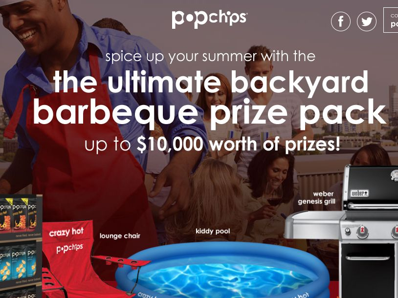 popchips Eat the Heat Sweepstakes