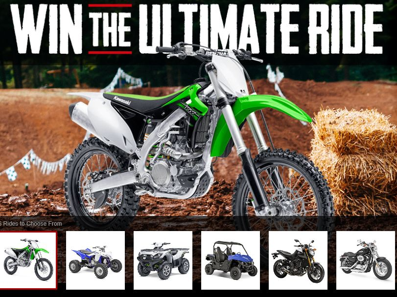 The MotoSport Ultimate Ride Giveaway Sweepstakes