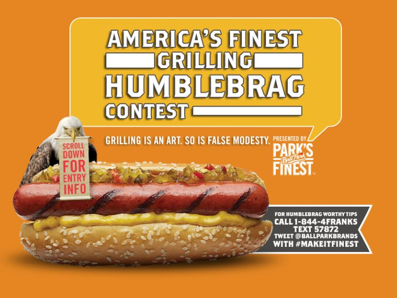 America's  Finest  Grilling  Humblebrag  Contest