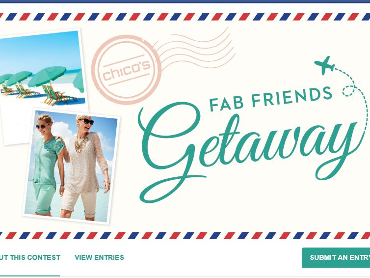 Chico's Fab Friends Giveaway Sweepstakes