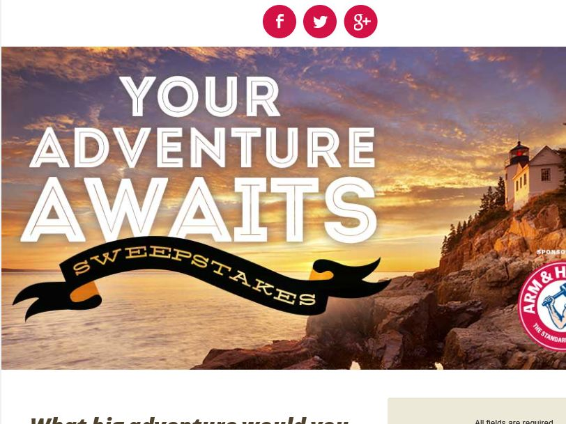 Scholastic Your Adventure Awaits Sweepstakes