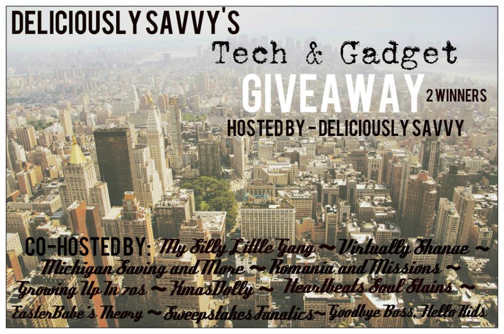 Tech & Gadget Giveaway (2 Winners)