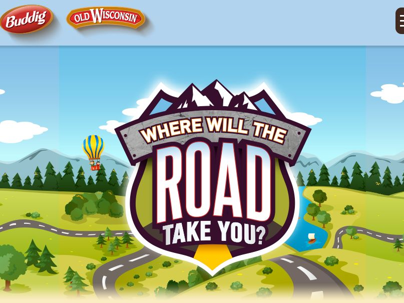 The Buddig Where will the Road Take You? Sweepstakes