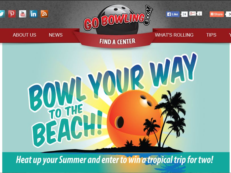 "GoBowling.com ""Bowl Your Way to the Beach"" Sweepstakes"