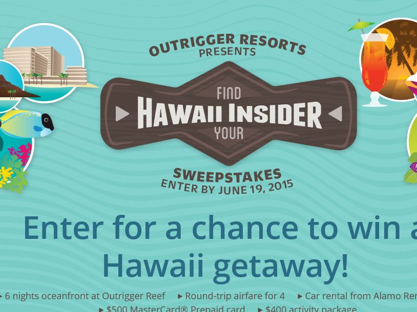 Outrigger hawaii sweepstakes winner