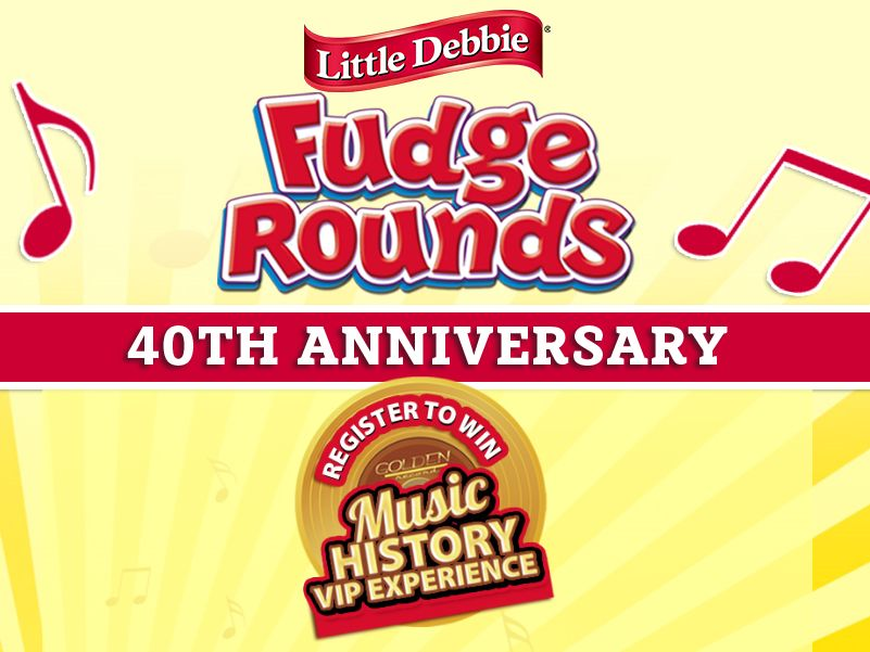The Little Debbie Fudge Rounds 40th Anniversary Giveaway