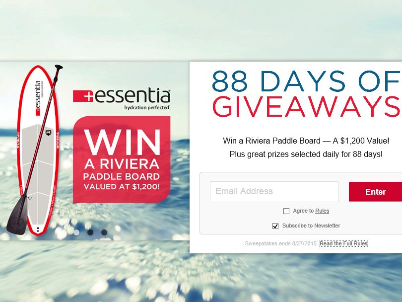 Essentia Water More Summer Giveaway