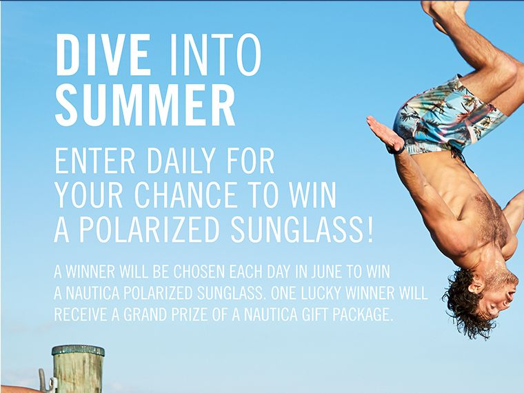 Nautica Dive into Summer Sweepstakes