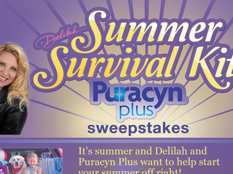 Delilah's Summer Survival Kit Sweepstakes