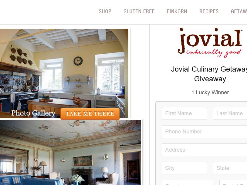 The Jovial Culinary Getaway Giveaway