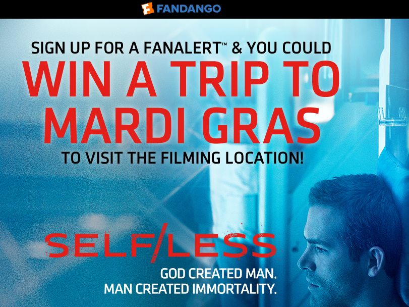 The Fandango Self/Less Sweepstakes