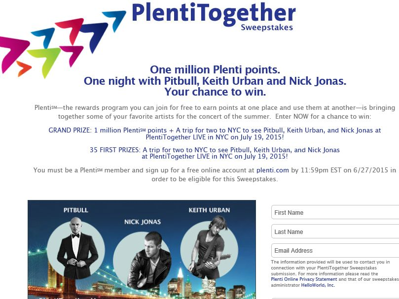PlentiTogether Sweepstakes