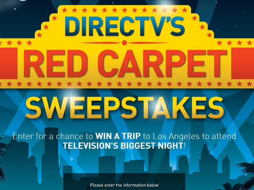 DIRECTV's Red Carpet Sweepstakes
