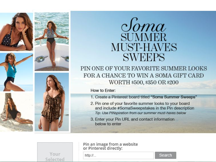 Soma Intimates Summer Must-Haves Sweepstakes