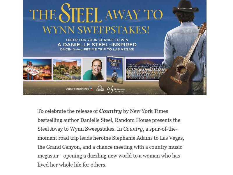 The Random House Steel Away to Wynn Sweepstakes