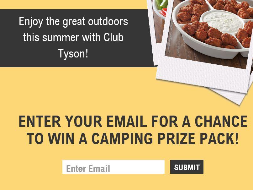 The Club Tyson Summer Fun Sweepstakes
