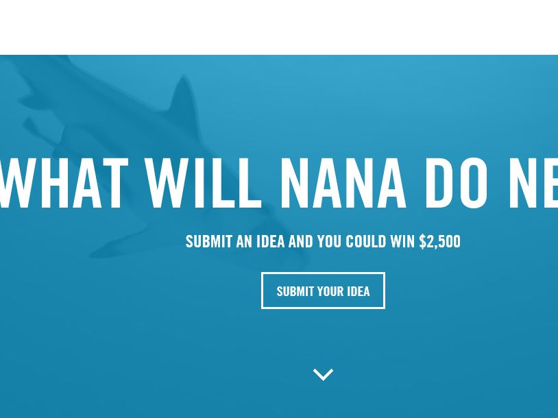 The What will Nexcare Nana Do Next Contest