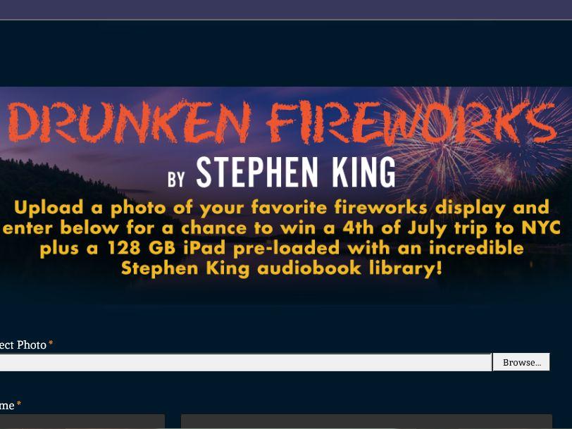 The Drunken Fireworks Audiobook contest