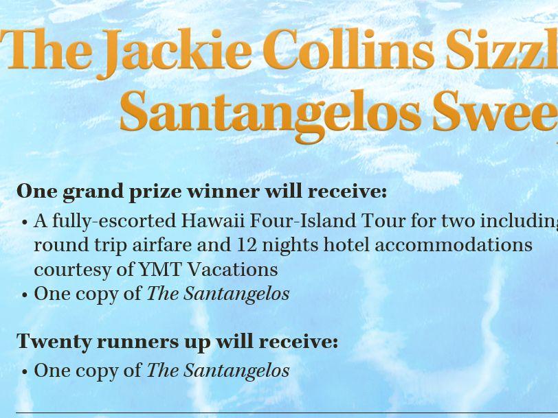Jackie Collins the Santangelos Sweepstakes