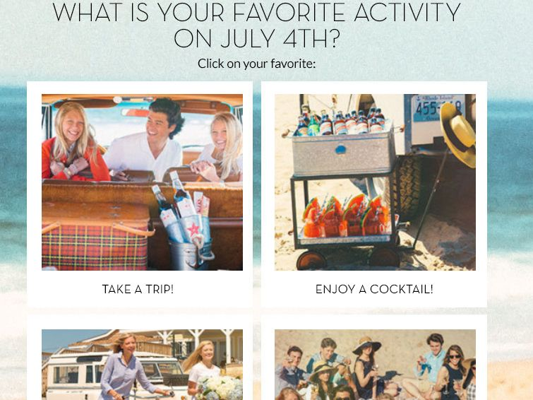 Pottery Barn Fourth of July Voting Contest