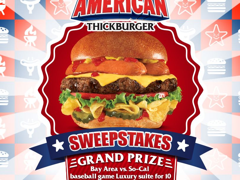 The Carl's Jr. Most American Summer Sweepstakes
