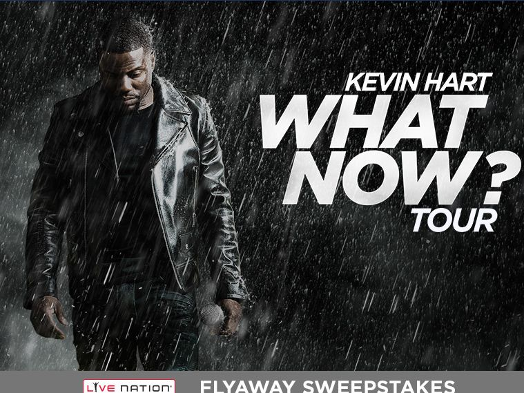 The Kevin Hart Flyaway Sweepstakes