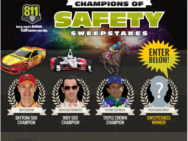 "The Common Ground Alliance ""Champions of Safety"" Sweepstakes"