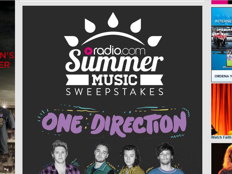 Radio.com Summer Music Sweepstakes