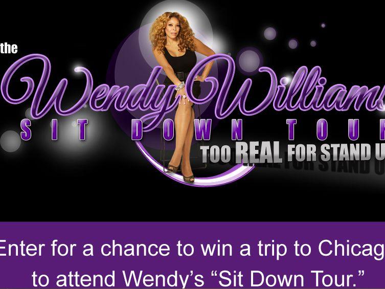 Wendy Williams Sit-Down Tour Sweepstakes