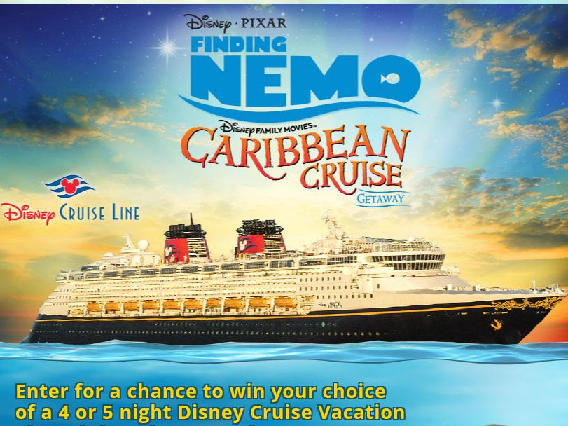 The Disney Family Movies' Finding Nemo Caribbean Cruise Getaway Sweepstakes