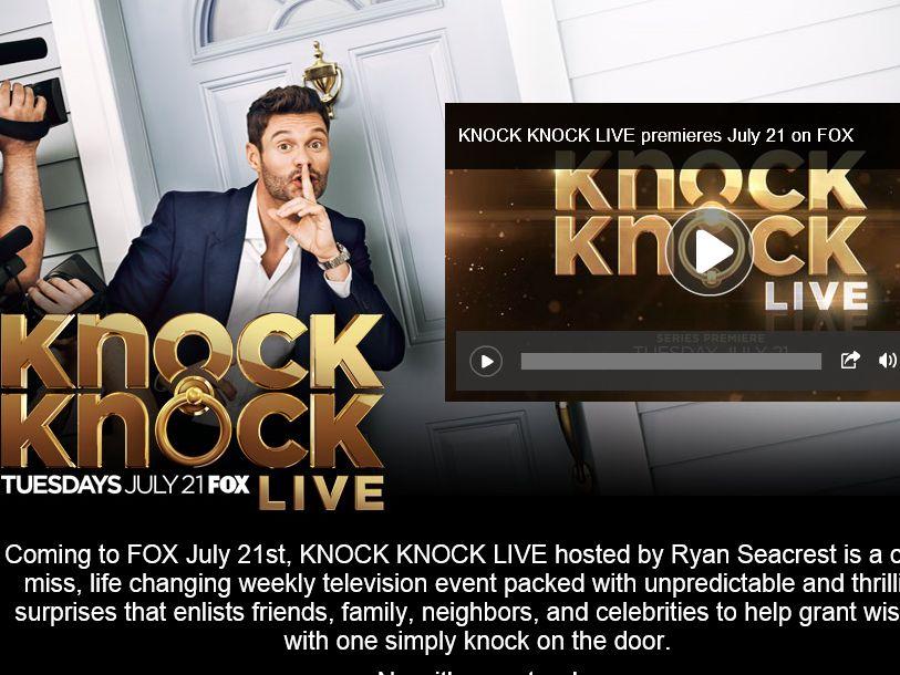 iHeartRadio's Knock Knock Live Contest
