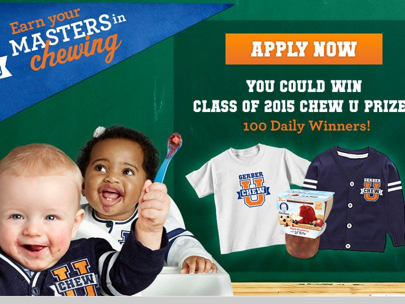 Gerber Chew U Instant Win Promotion