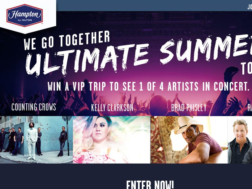 """The """"Hampton Ultimate Summer Promotion: Holmdel, New Jersey"""" Sweepstakes"""