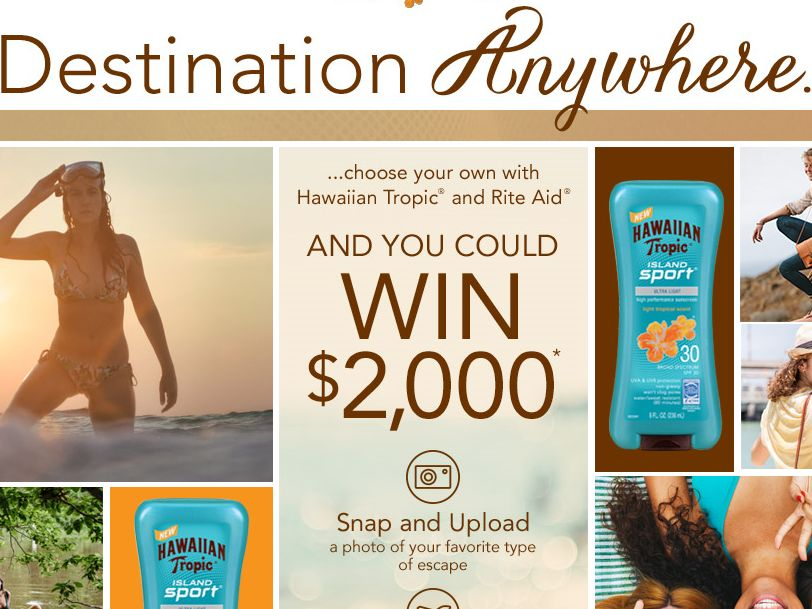 The Hawaiian Tropic Personal Escape Sweepstakes