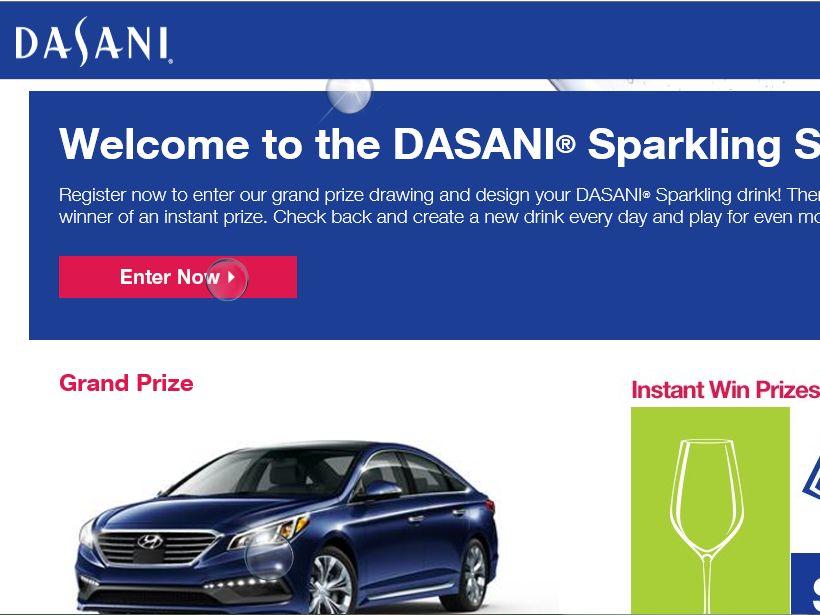 The DASANI Sparkling Sweepstakes